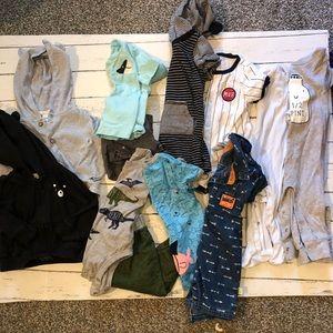 Boys 6-9 months 12 piece bundle